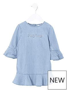 river-island-mini-girls-denim-ruffle-dress