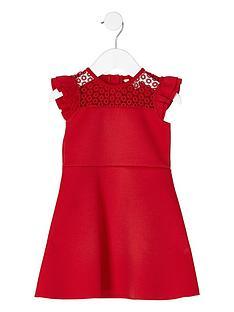 river-island-mini-girls-red-lace-frill-shoulder-dress