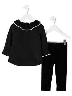 river-island-mini-girls-black-top-leopard-leggings-outfit