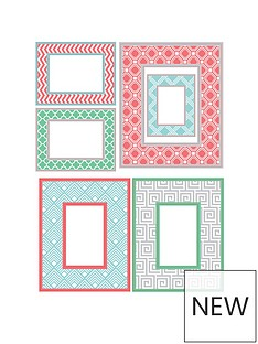 geo-colour-wall-art-kit-picture-frames