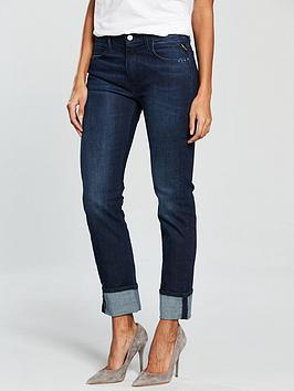 Replay Jacksy High Waist Mom Jeans