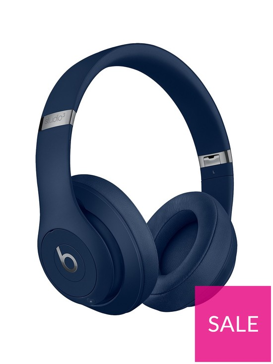 c0a98af24f3 Beats by Dr Dre Studio 3 Wireless Headphones - Blue | very.co.uk