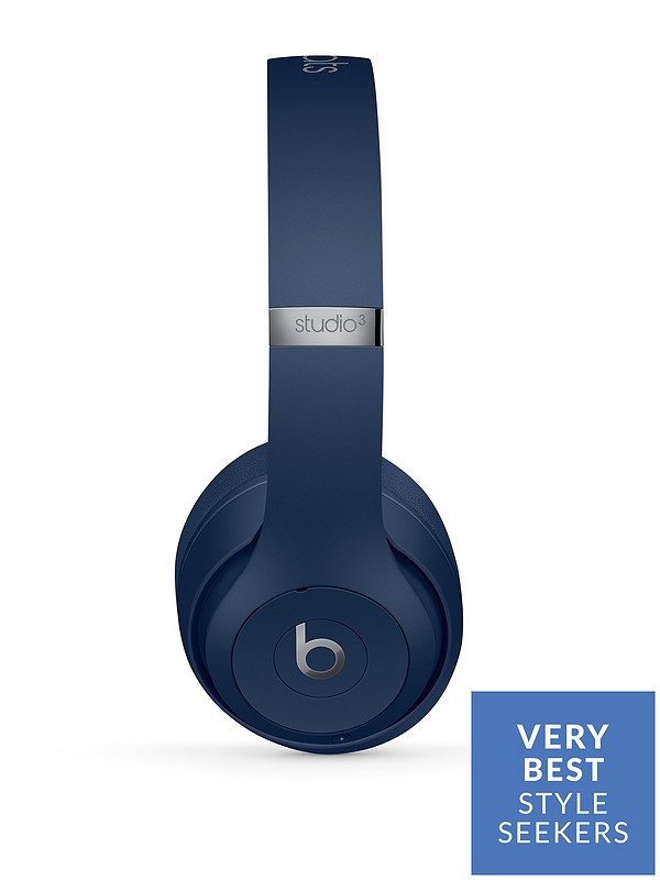 Beats By Dr Dre Studio 3 Wireless Headphones Blue Very Co Uk