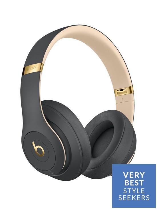 4537896b3c4 Beats by Dr Dre Studio 3 Wireless Headphones – Beats Skyline Collection,  Shadow Gray