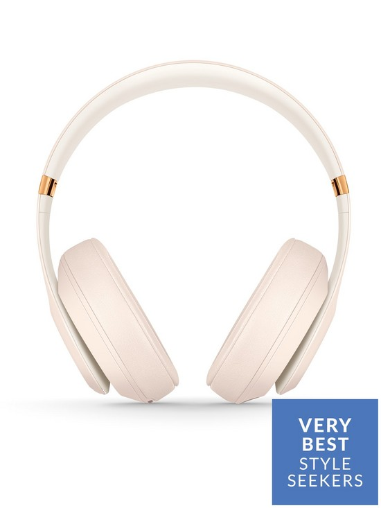 34ae8dc26ee ... Beats by Dr Dre Studio3 Wireless Headphones - Porcelain Rose. View  larger
