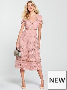 v-by-very-lace-eyelet-midi-dress