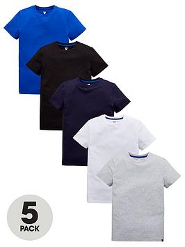 v-by-very-boys-pack-of-5-basic-tees-multi