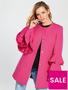 v-by-very-petite-flute-sleeve-formal-coat
