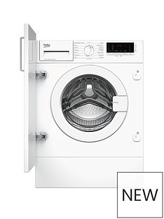 Beko WIY74545 7kgLoad, 1400 spin Built-In Washing Machine