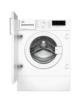 Beko Wiy74545 7Kg Load, 1400 Spin Built-In Washing Machine - White