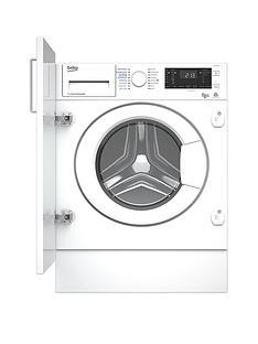 Beko WDIY854310F 8kgWash,5kgDry, 1400 Spin Integrated Washer Dryer - White