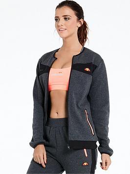Ellesse Neith Tech Fleece Jacket - Black