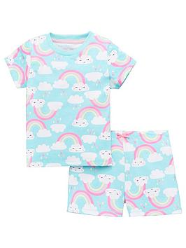 mini-v-by-very-girls-cloud-and-rainbow-pyjama-set