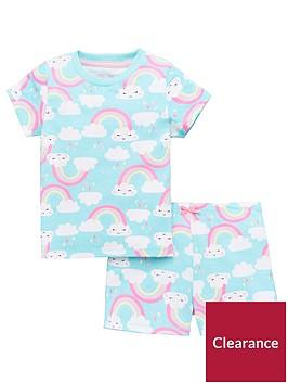 mini-v-by-very-girls-cloud-and-rainbow-pyjama-set