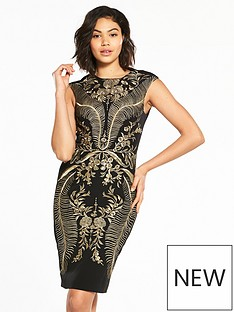 karen-millen-karen-millen-oriental-embroidered-dress