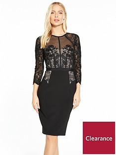 karen-millen-beaded-and-embroidered-victoriana-dress-black