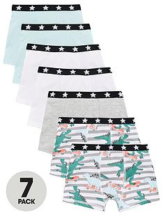 mini-v-by-very-boys-7-pack-dinosaur-skate-trunks