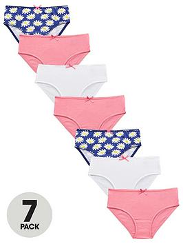 mini-v-by-very-girls-7-pack-pink-amp-daisy-briefs