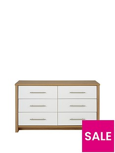consort-walden-ready-assembled-3-3-drawer-chest