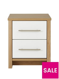 consort-walden-ready-assembled-2-drawer-bedside-chest