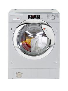 Hoover HBWM914DC809kgLoad 1400 Spin Integrated Washing Machine - White