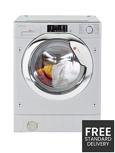 Hoover HBWM914DC80 9kg Load,1400 Spin Integrated Washing Machine - White