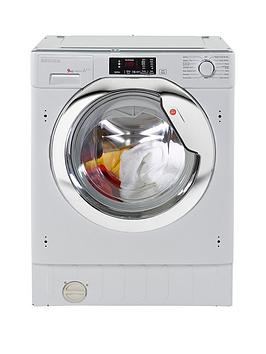Hoover Hbwm914Dc 9Kg Load, 1400 Spin Integrated Washing Machine - Washing Machine With Installation