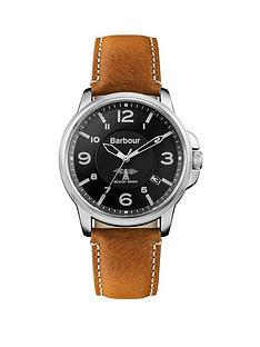 barbour-bb072bkbrnbspbarnard-tan-leather-strap-watch