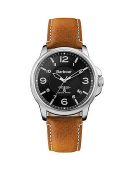 barbour-bb072bkbrnbspbarnard-tan-leather-strap-watch