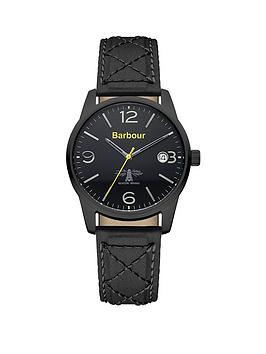 barbour-bb026bkbknbspalanby-black-fabric-strap-mens-watch