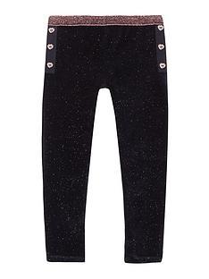 baker-by-ted-baker-girls039-navy-velvet-glitter-leggings