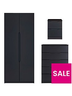 monaco-ready-assembled-high-gloss-3-piece-package-2-door-wardrobe-5-drawer-chest-and-2-drawer-bedside-cabinet-buy-and-save