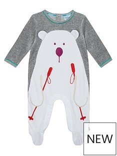 baker-by-ted-baker-baby-boys039-grey-skiing-polar-bear-sleepsuit