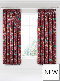 va-oriental-peony-pencil-pleat-curtains-66x72