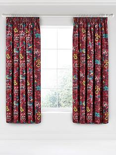 va-oriental-peony-pencil-pleated-curtains