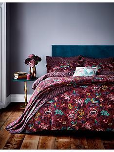 va-oriental-peony-100-cotton-bedspread-throw