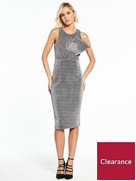 river-island-bodycon-dress--silver