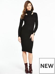river-island-bodyfit-dress--black