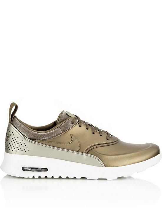 sports shoes daafd 593c4 Nike Air Max Thea Premium Trainers - Gold