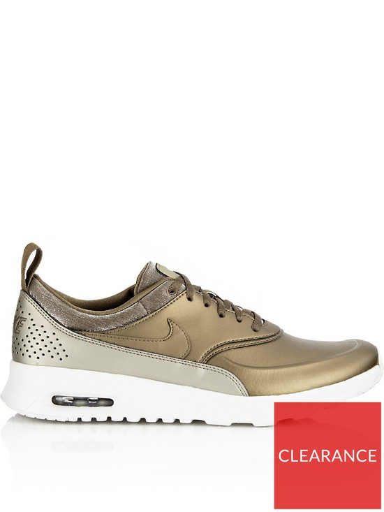 new arrivals 540ee b7ff9 Nike Air Max Thea Premium Trainers - Gold   very.co.uk