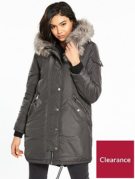river-island-padded-parka-coat-grey