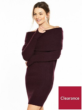 river-island-bardot-dress--aubergine