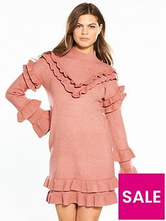 river-island-frill-dress--pink