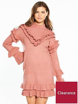 river-island-frill-dress--pink