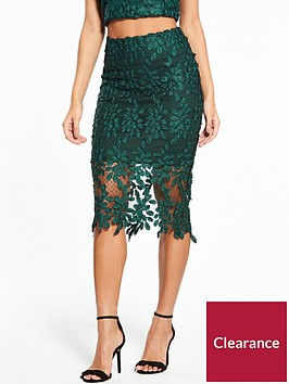 river-island-floral-mesh-pencil-skirt