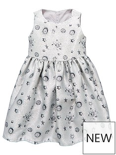mini-v-by-very-girls-metalic-silver-space-print-dress
