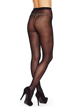 pretty-polly-40d-black-opaque-tights-6-pack