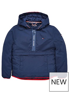 tommy-hilfiger-boys-black-anorak