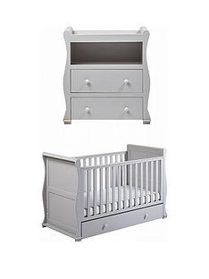 east-coast-east-coast-alaska-cot-bed-amp-dresser-changer-grey