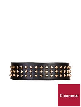 forever-unique-gold-studded-leather-belt